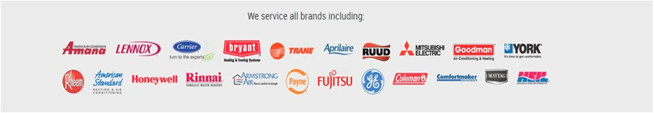 Brands at Airworx Air Conditioning & Refrigeration Inc